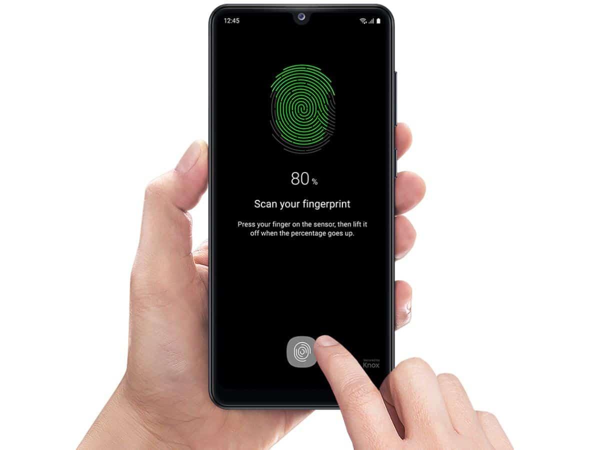 fingerprint Samsung Galaxy A31