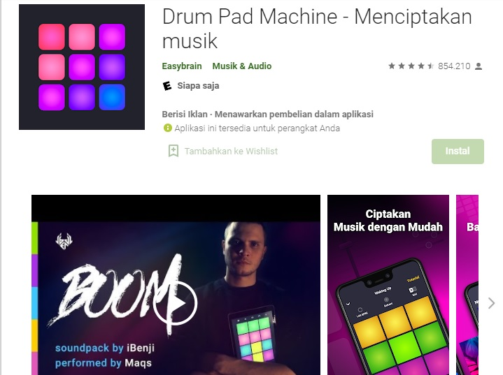 4. Drum Pad Machine
