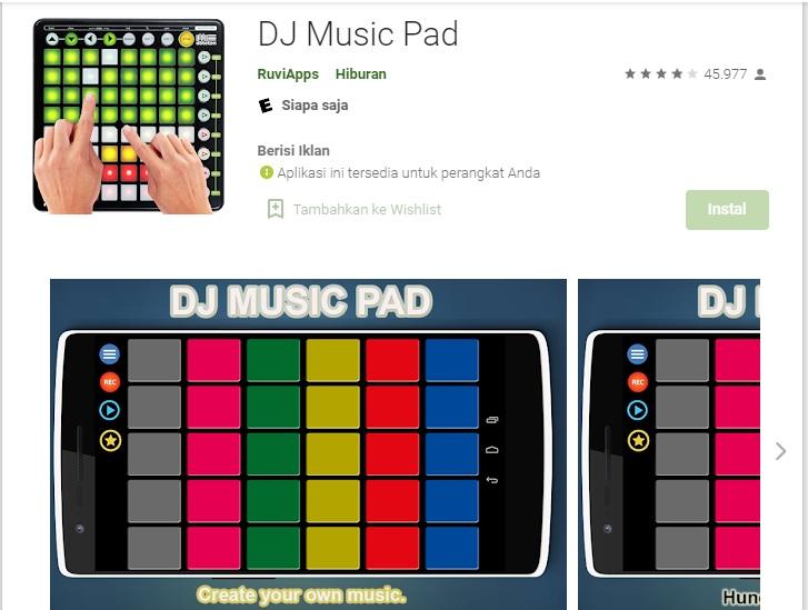 6. DJ. Music Pad