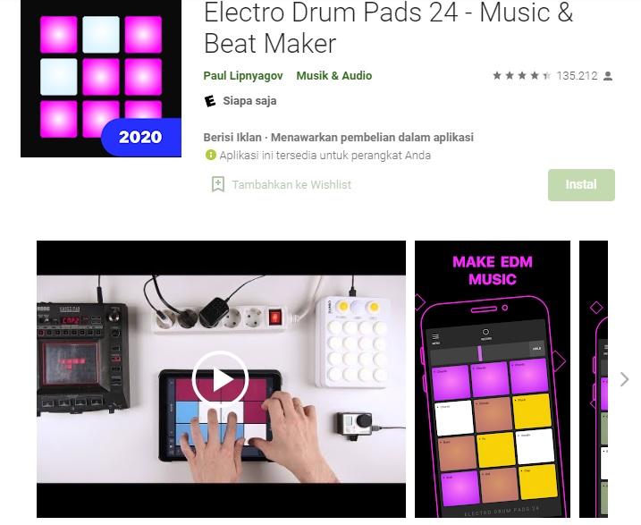 9. Electro Drum Pads 24