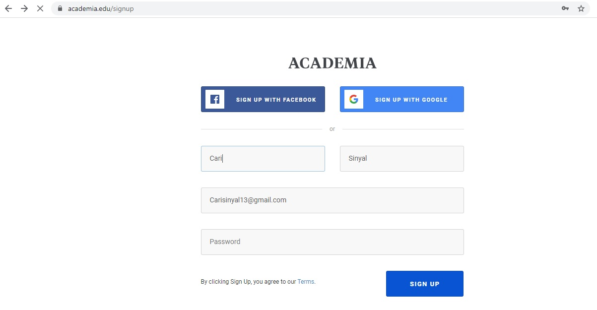 C. Unduh Academia 1