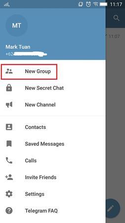 Cara Membuat Grup Di Telegram 1