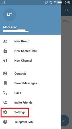 Cara Menentukan bio di Telegram 2