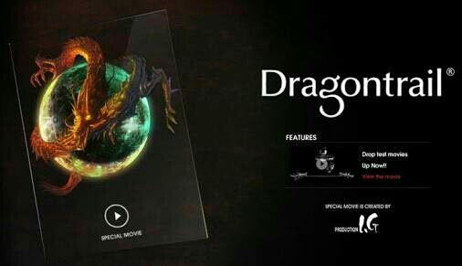 Dragontail Glass