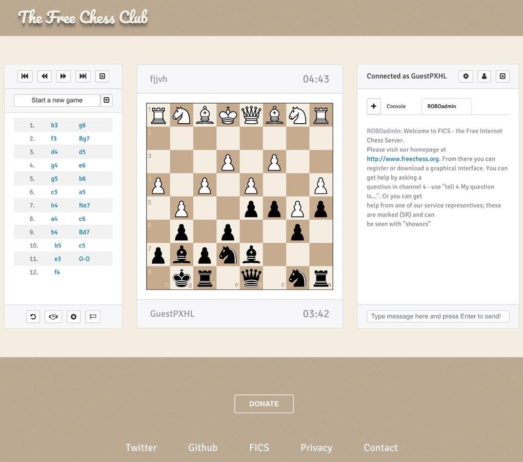 Free Chess Club