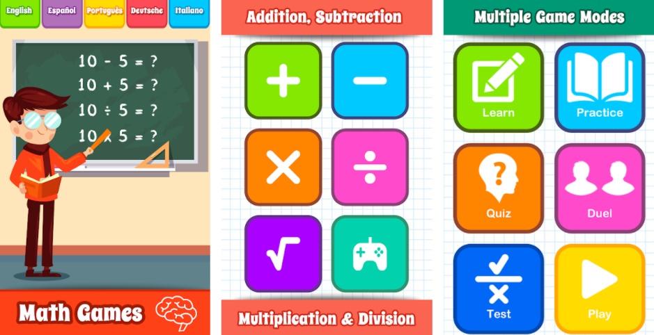 Math Games - GunjanApps Studios