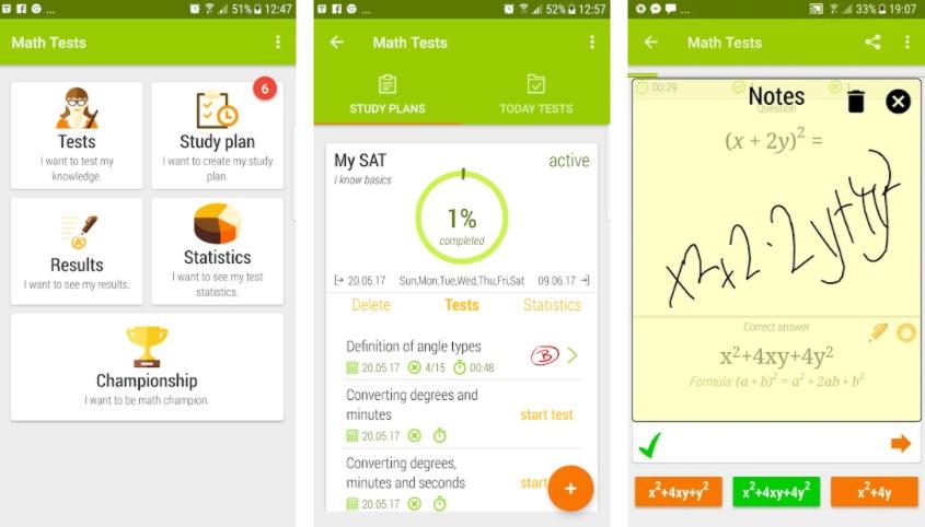 Math Tests - Eductify
