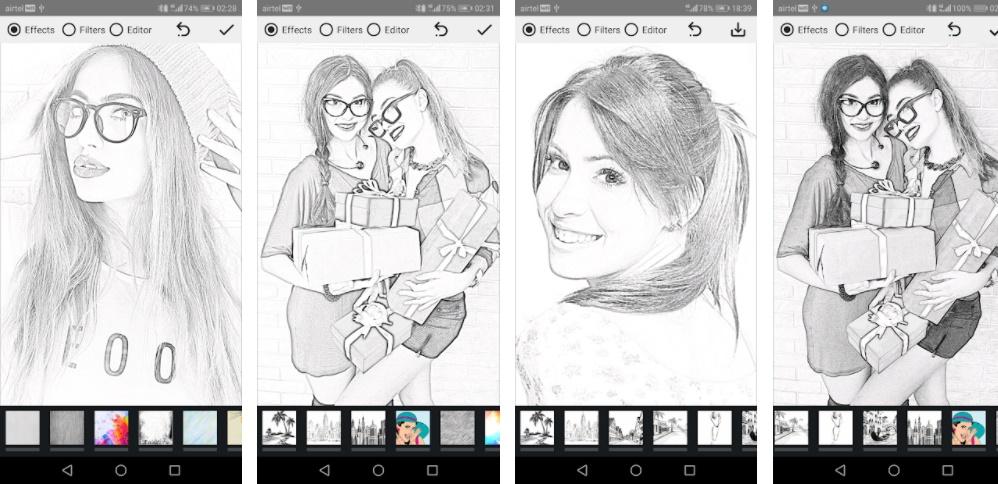 Pencil Photo Sketch - Minerva Studios