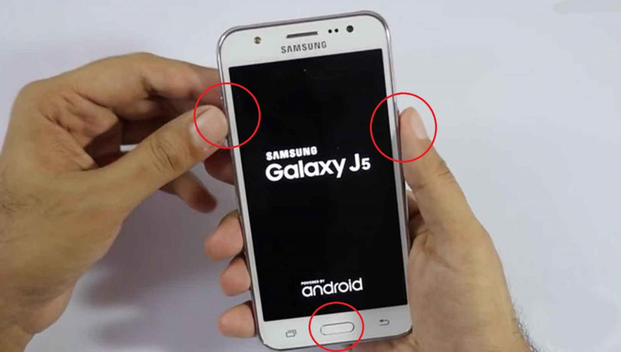Reset Samsung