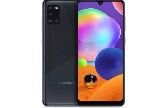 Samsung Galaxy A31 karaoke machine