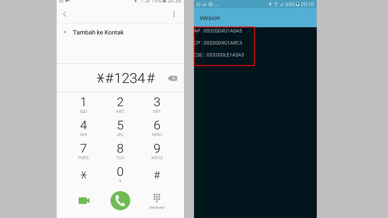 Cek Kode Rahasia Samsung