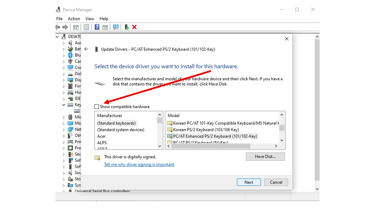 Keyboard Device Manager 3