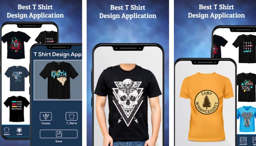 T Shirt Design - Custom T Shirts - Planets Studio