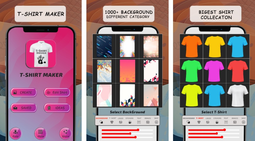 T Shirt Design Pro - Custom T Shirts - Fusion Developers