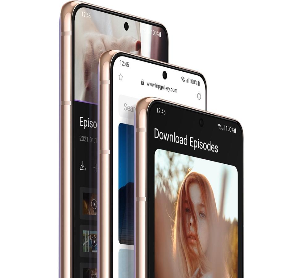 Tampilan Samsung Galaxy S21 Series
