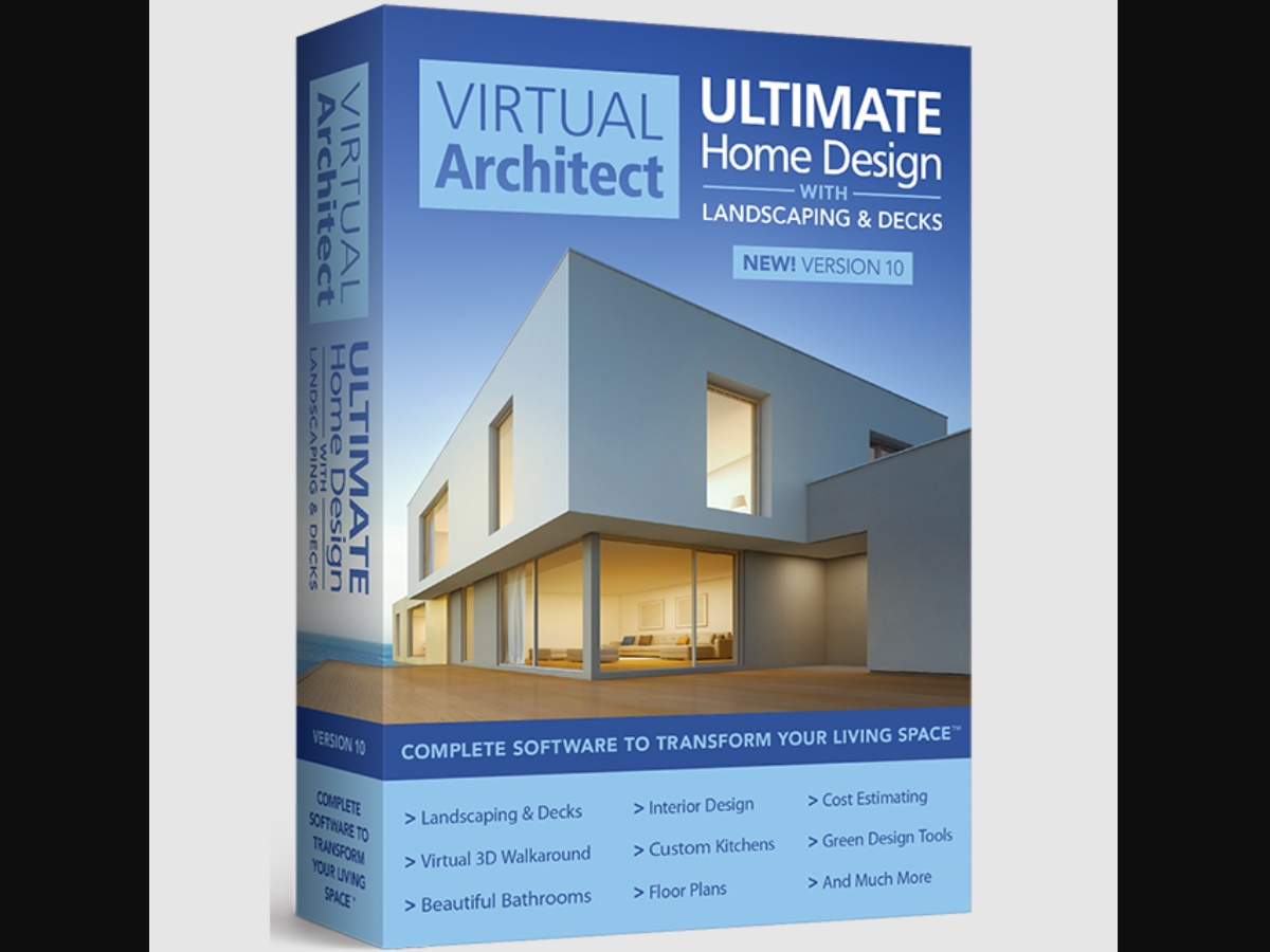 Virtual Architect Ultimate Home with Landscaping & Decks Design 10