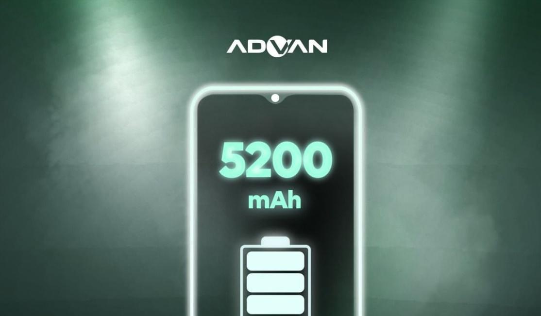 advan g9 baterai