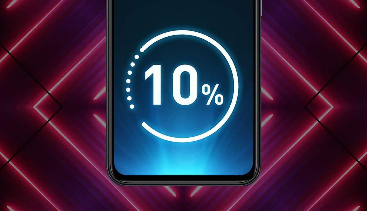 charging time Infinix Hot 9
