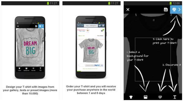 design anda get tshirt