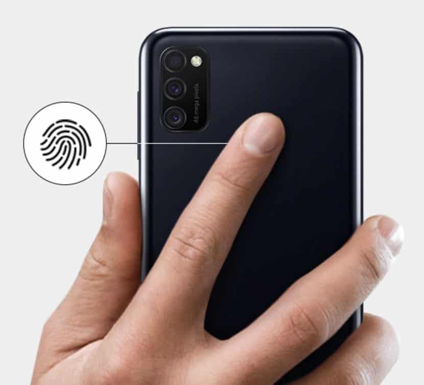 fingerprint samsung galaxy m21