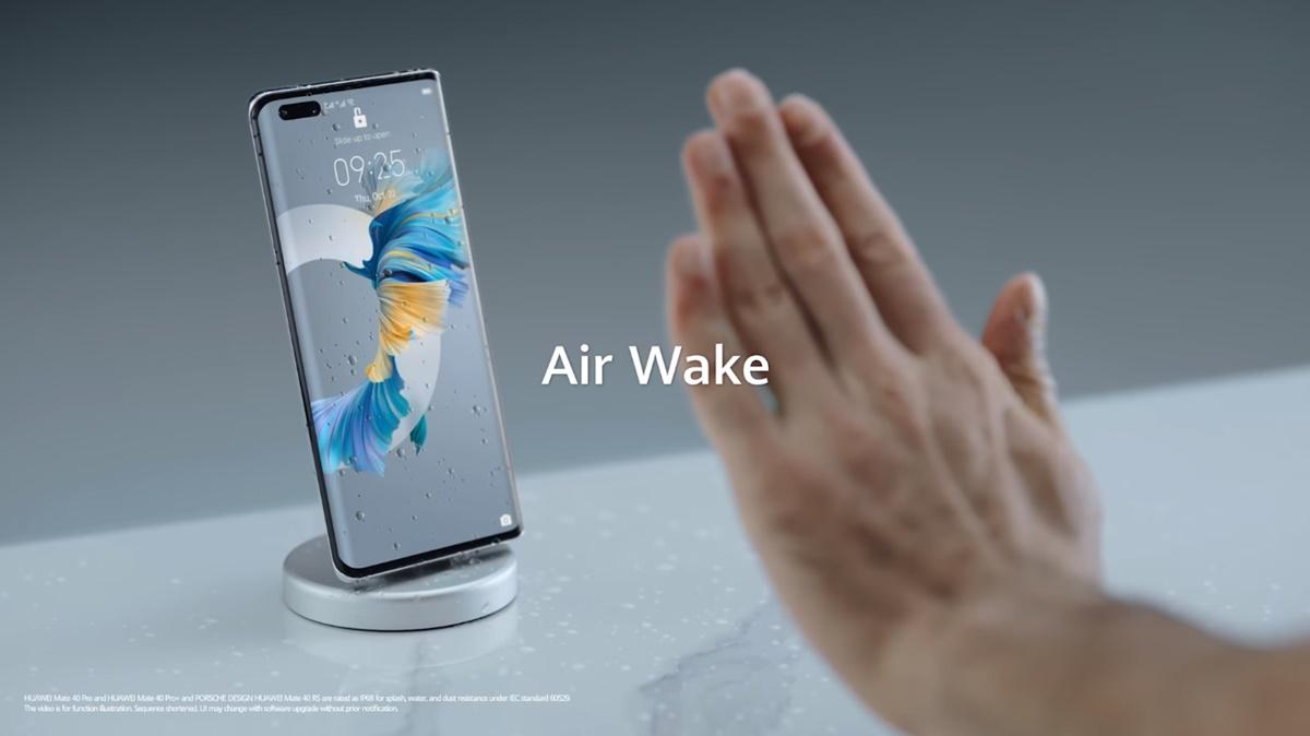 huawei mate 40 pro air gesture