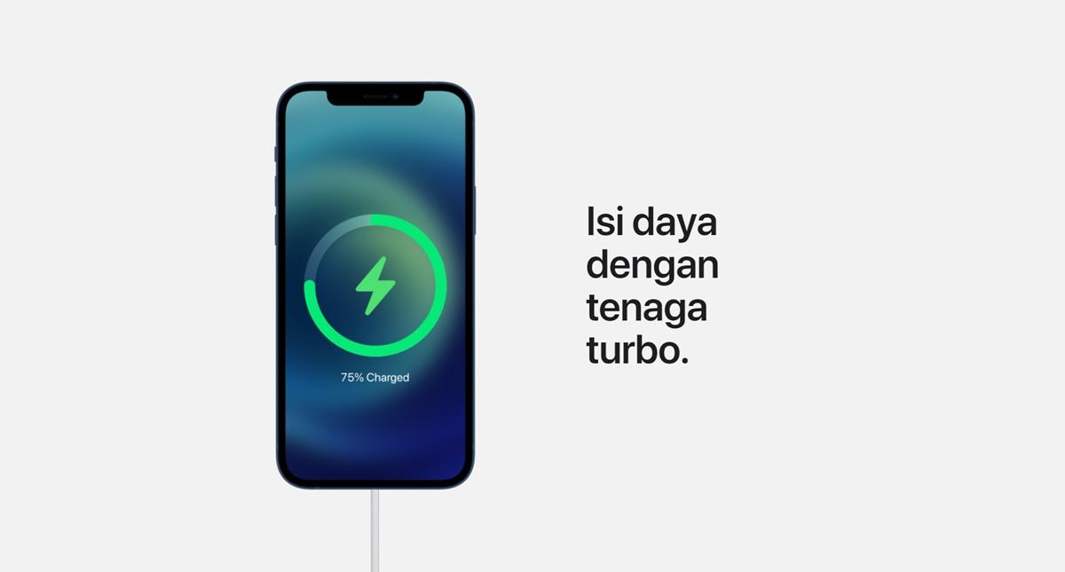 iphone 12 baterai