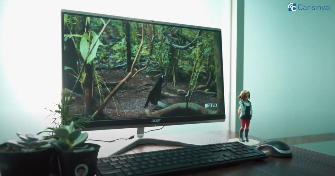 review acer aio c22 layar 1