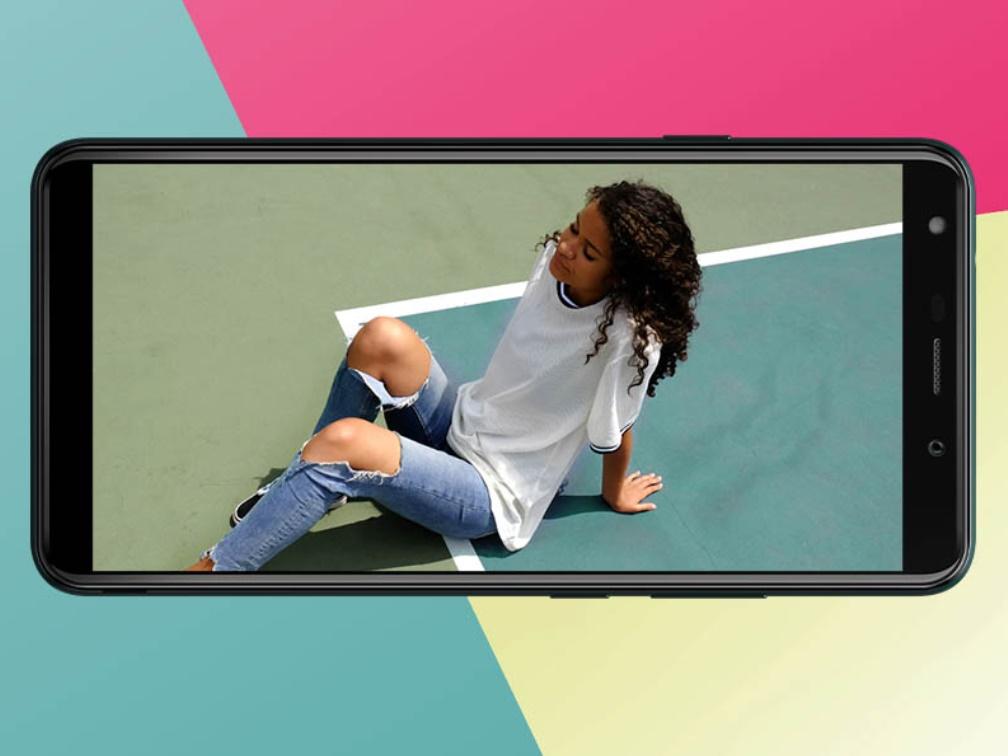 wiko y61 desain layar fullview