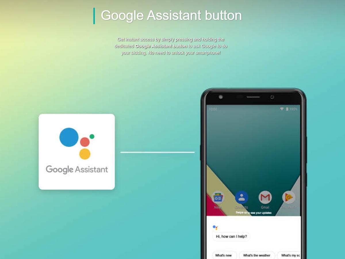 wiko y61 google assistant
